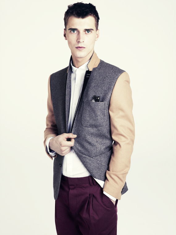 hm fall 2011 men 06 H&M predstavuje jesenný lookbook Dark Autumn