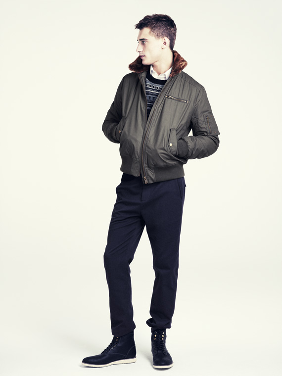 hm fall 2011 men 07 H&M predstavuje jesenný lookbook Dark Autumn