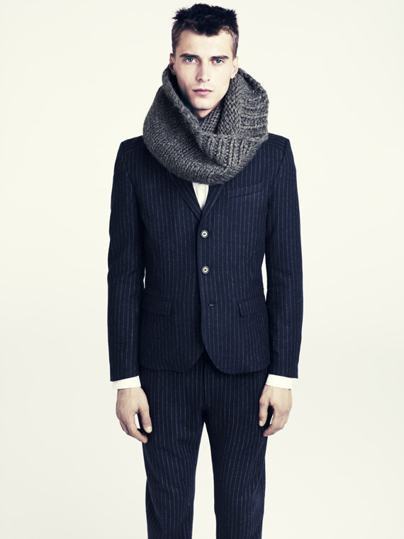 hm fall 2011 men 08 H&M predstavuje jesenný lookbook Dark Autumn
