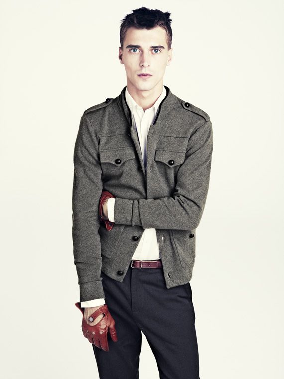 hm fall 2011 men 10 H&M predstavuje jesenný lookbook Dark Autumn