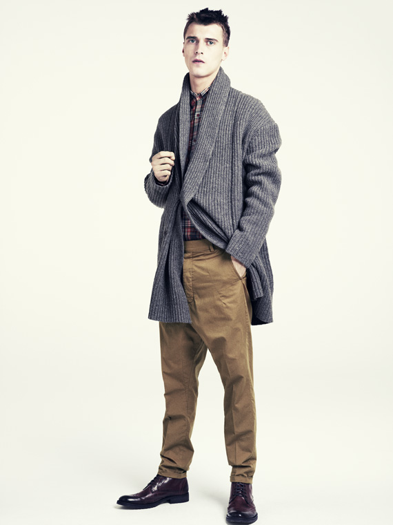 hm fall 2011 men 11 H&M predstavuje jesenný lookbook Dark Autumn