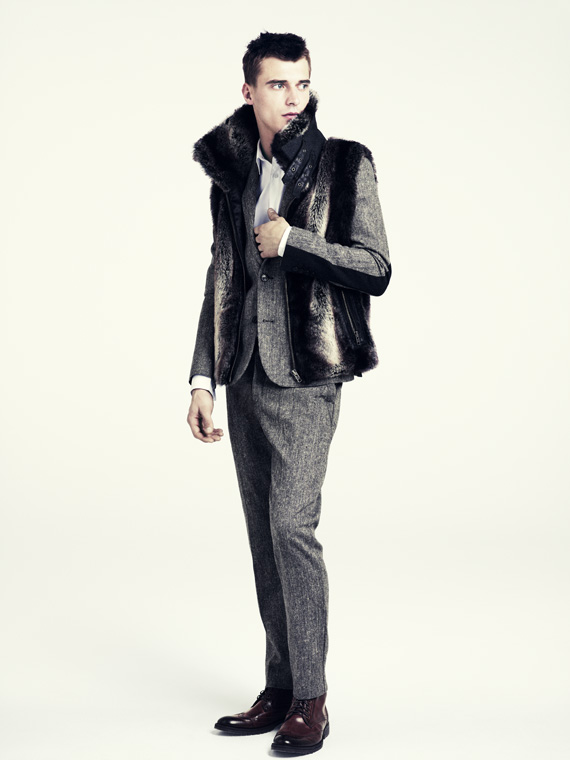 hm fall 2011 men 13 H&M predstavuje jesenný lookbook Dark Autumn