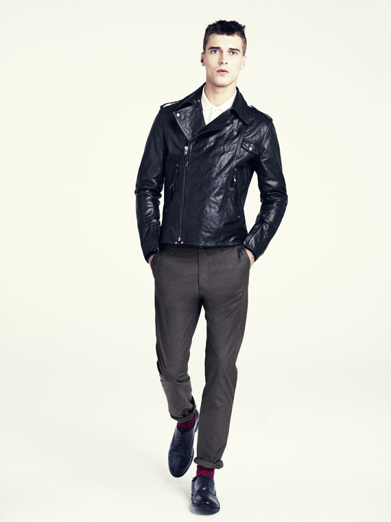 hm fall 2011 men 15 H&M predstavuje jesenný lookbook Dark Autumn