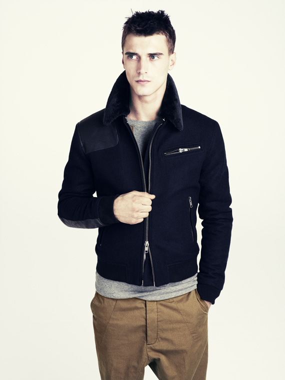 hm fall 2011 men 16 H&M predstavuje jesenný lookbook Dark Autumn