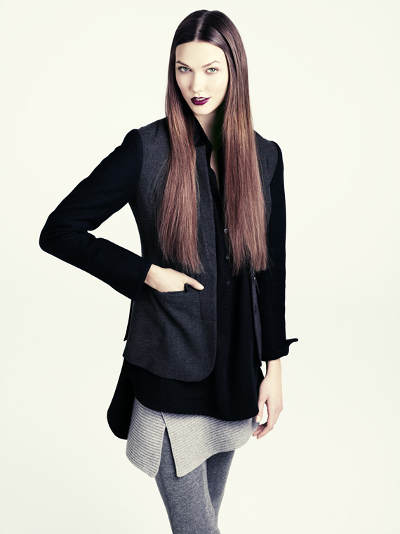 hm fall 2011 woman 11 H&M predstavuje jesenný lookbook Dark Autumn