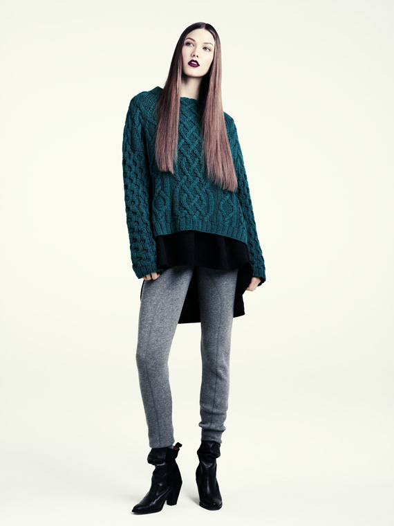hm fall 2011 woman 12 H&M predstavuje jesenný lookbook Dark Autumn