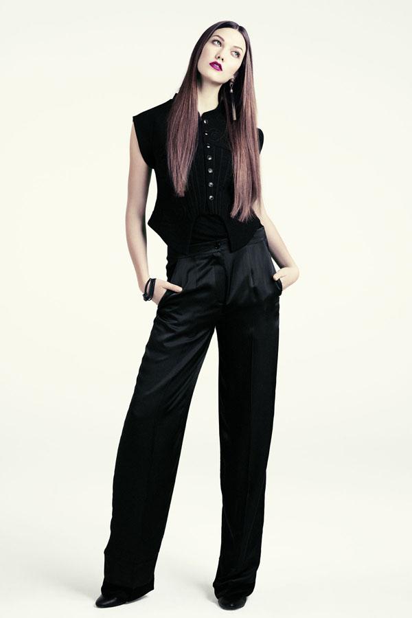 karlie hm1 H&M predstavuje jesenný lookbook Dark Autumn