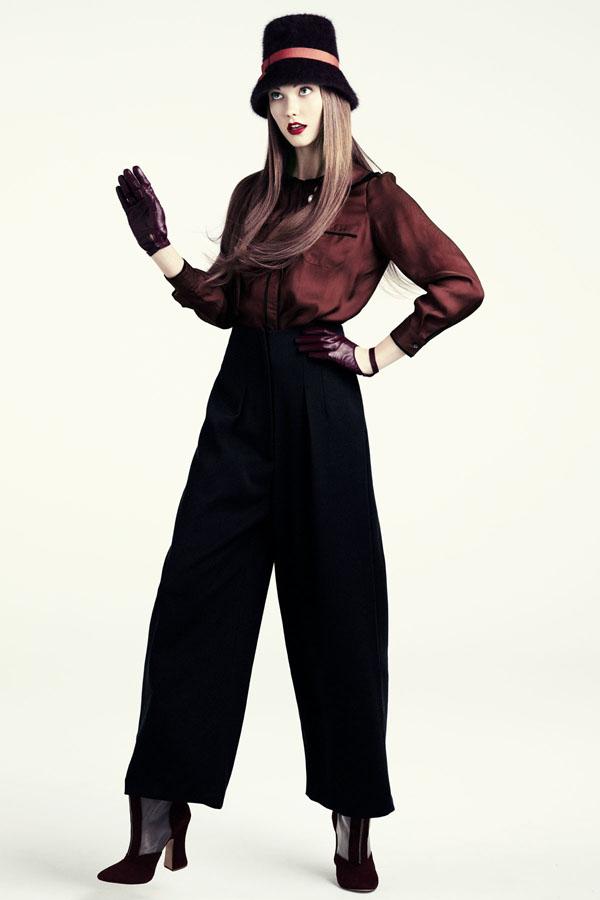 karlie hm2 H&M predstavuje jesenný lookbook Dark Autumn