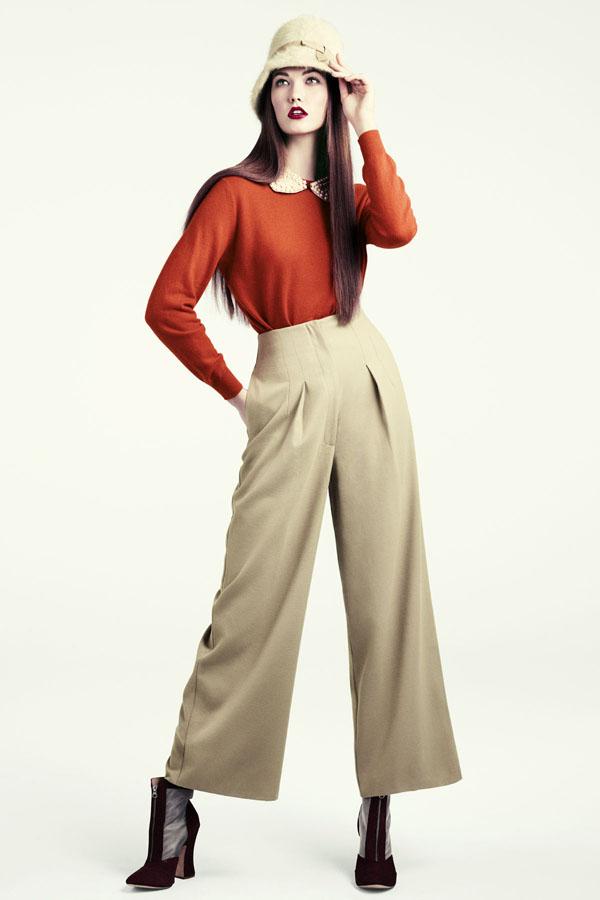 karlie hm3 H&M predstavuje jesenný lookbook Dark Autumn