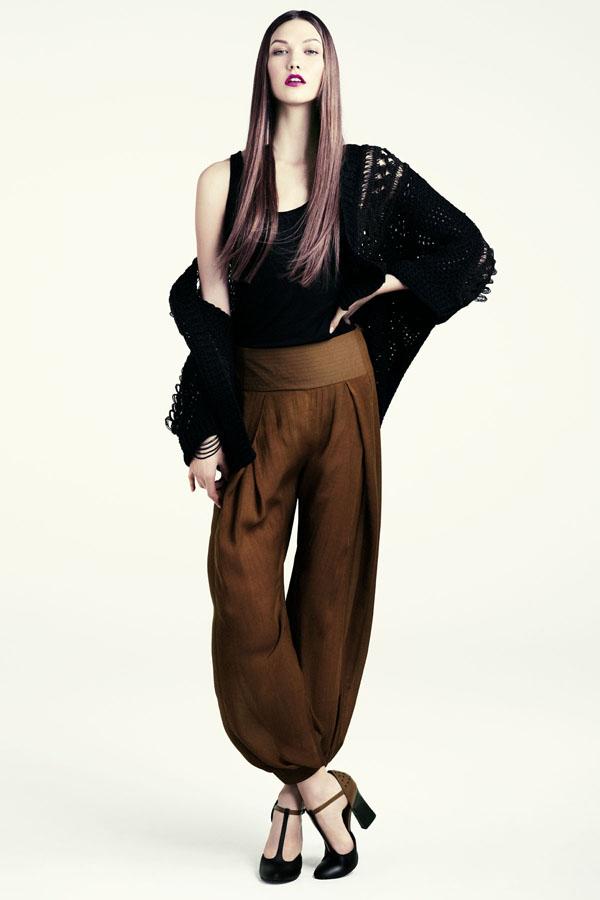 karlie hm4 H&M predstavuje jesenný lookbook Dark Autumn