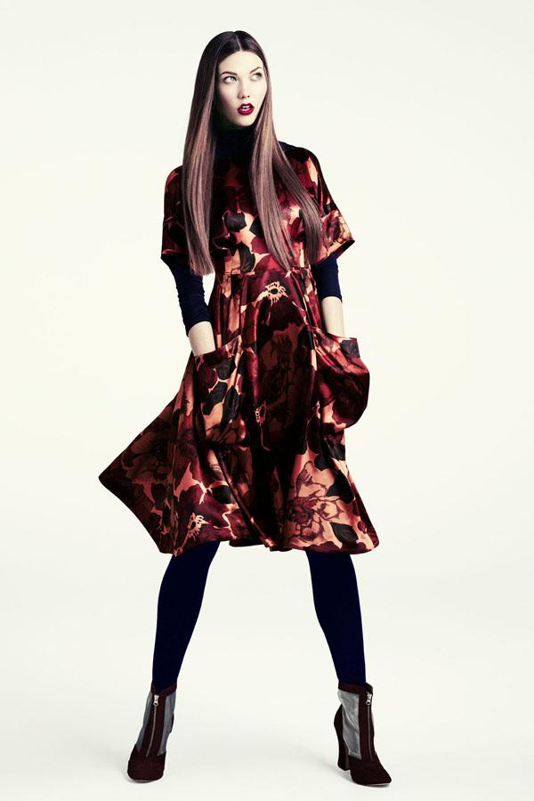 karlie hm8 H&M predstavuje jesenný lookbook Dark Autumn