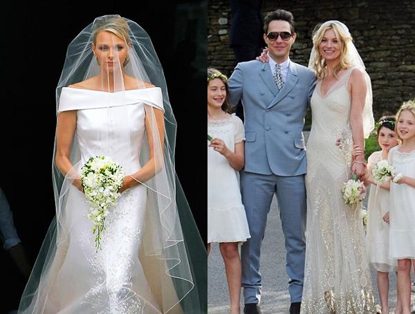 00 Kate Moss a Charlene Wittstock povedali áno v dizajnérskych šatách