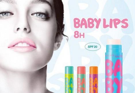 Baby Lips 470x325 Dve novinky na pery od Maybelline a Rimmel, ktoré chceme vyskúšať