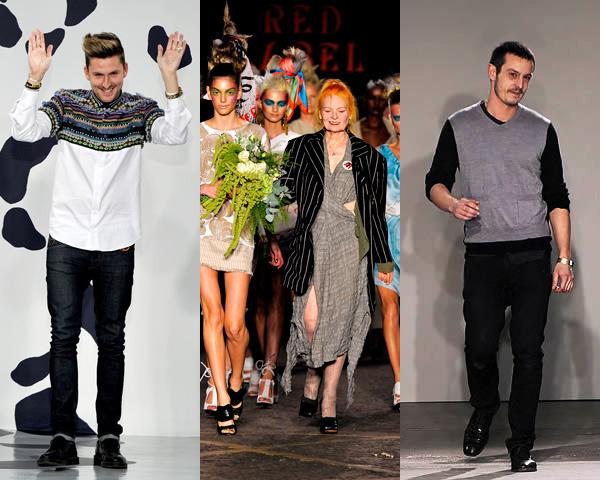 navrhari London Fashion Week Spring 2012: Trio vzorov a britského kára