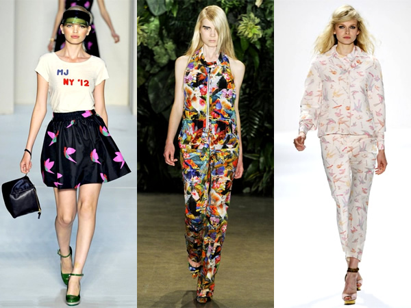 nyfw1 Vtáky z jesenného New York Fashion Week 2011