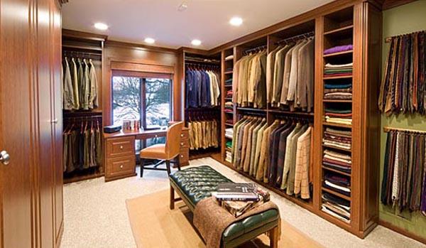 Walk in closets 11 33 inšpirácií a 11 tipov, ako by mal vyzerať váš vysnívaný a ideálny šatník