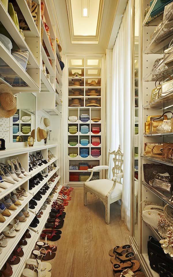 Walk in closets 19 33 inšpirácií a 11 tipov, ako by mal vyzerať váš vysnívaný a ideálny šatník
