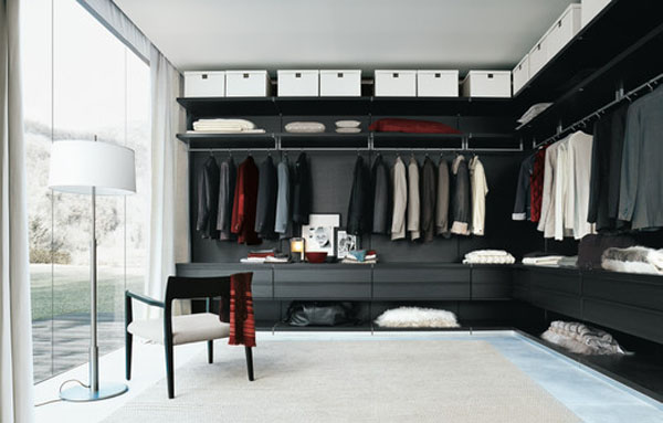 Walk in closets 5 33 inšpirácií a 11 tipov, ako by mal vyzerať váš vysnívaný a ideálny šatník