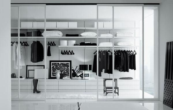 Walk in closets 7 33 inšpirácií a 11 tipov, ako by mal vyzerať váš vysnívaný a ideálny šatník