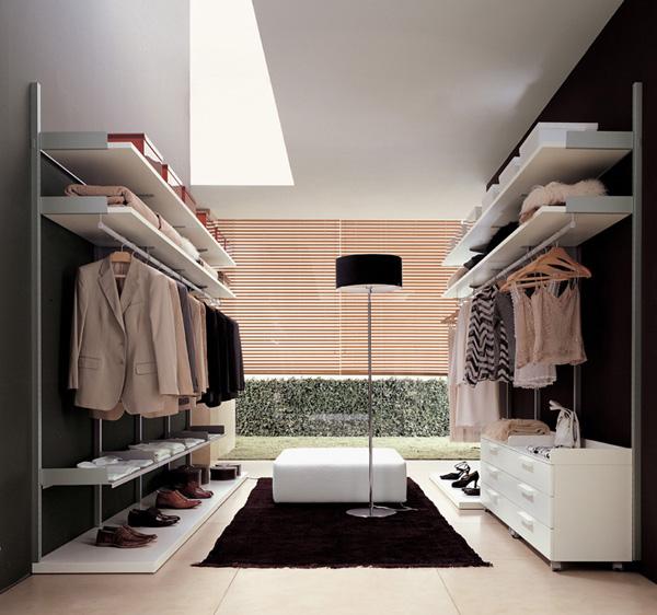 Walk in closets 9 33 inšpirácií a 11 tipov, ako by mal vyzerať váš vysnívaný a ideálny šatník