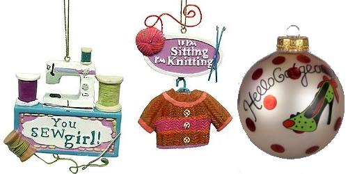 christmas ornaments fashion Vianočný stromček v módnom šate