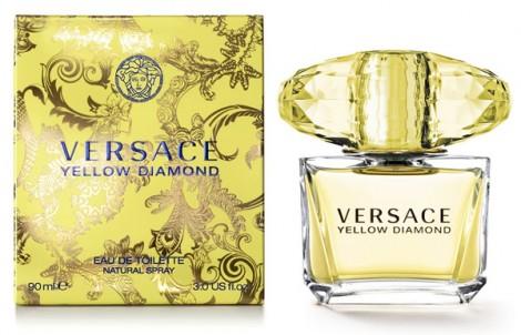 versace yellow crystal 470x302 H&M bude rozdávať vzorky parfému Versace Yellow Diamond