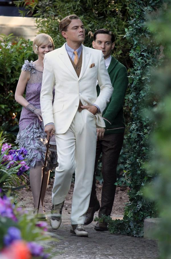 leonardo dicaprio carey mulligan gatsby centennial 07 Štýl Veľkého Gatsbyho bude ešte väčší