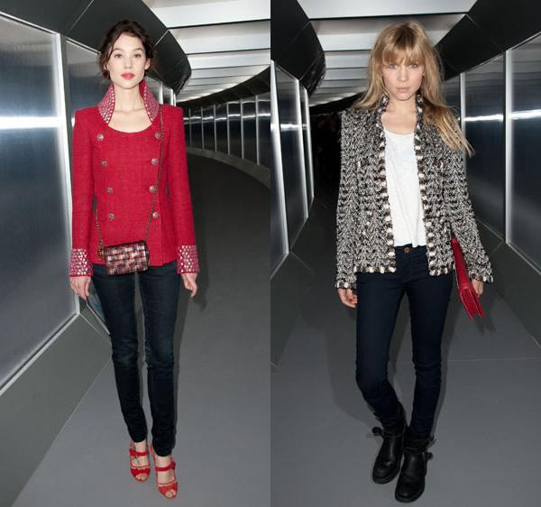 21 Celebrity z prvého radu: Ktorá sa obliekla na jarnom Haute Couture Week 2012 najlepšie?