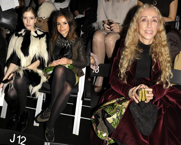 duma franca Celebrity z prvého radu: Ktorá sa obliekla na jarnom Haute Couture Week 2012 najlepšie?