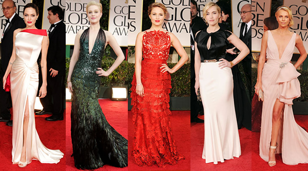 globes 01 Golden Globe Awards 2012, 1. časť