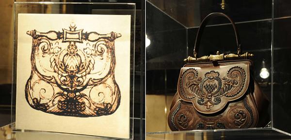 prietosa wide Skica Leonarda Da Vinciho sa zmenila na kabelku