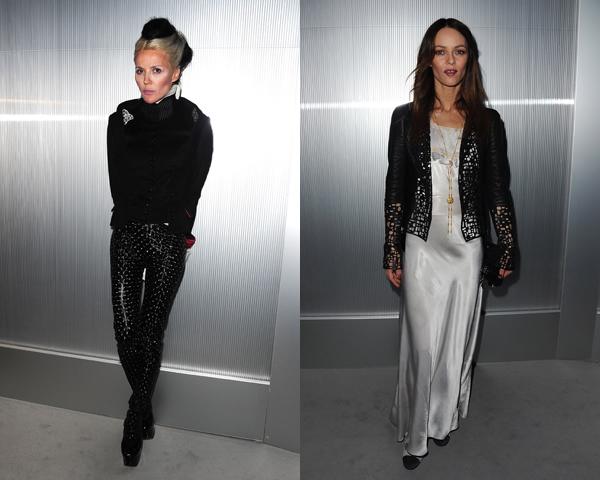 vanessa daphne Celebrity z prvého radu: Ktorá sa obliekla na jarnom Haute Couture Week 2012 najlepšie?