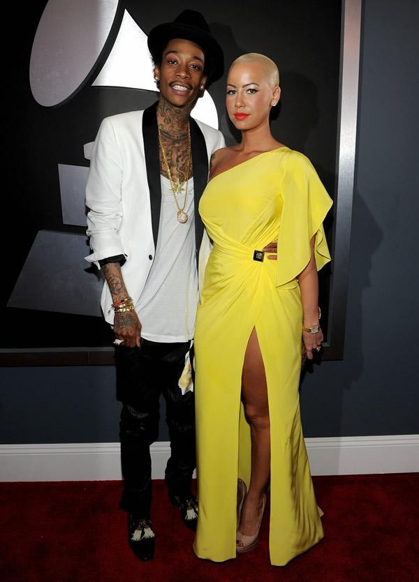 amber rose wiz khalifa grammys 06 Grammy Awards 2012: Čierny smútok za Whitney