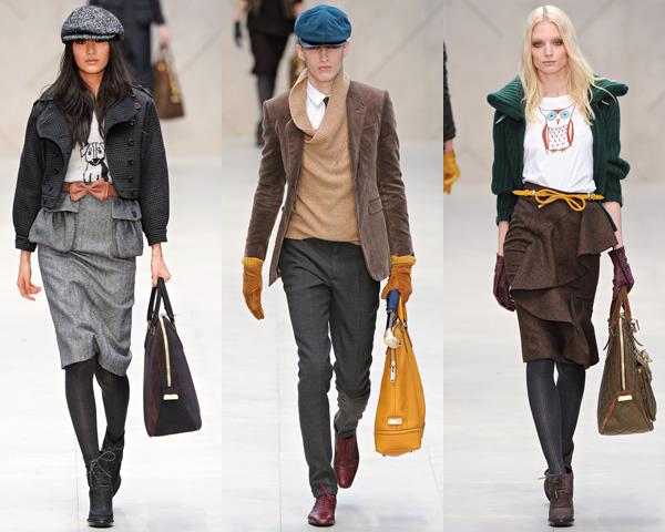 b2 London Fashion Week: Jeseň/zima 2012 s kožou, kožušinkami, klasikou ale i šialenými potlačami