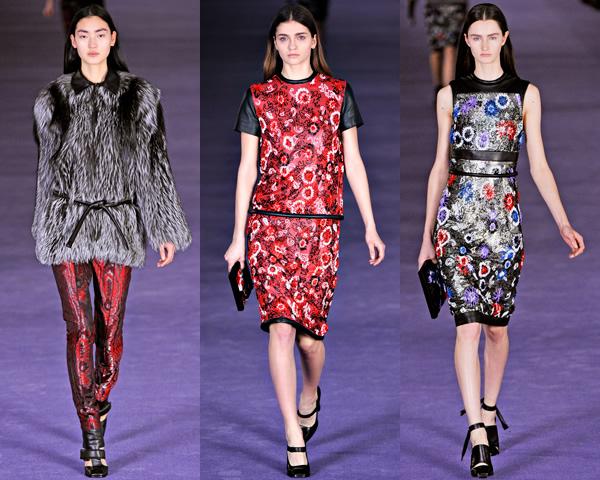 ch2 London Fashion Week: Jeseň/zima 2012 s kožou, kožušinkami, klasikou ale i šialenými potlačami