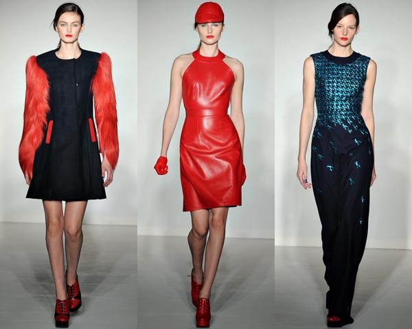 h2 London Fashion Week: Jeseň/zima 2012 s kožou, kožušinkami, klasikou ale i šialenými potlačami