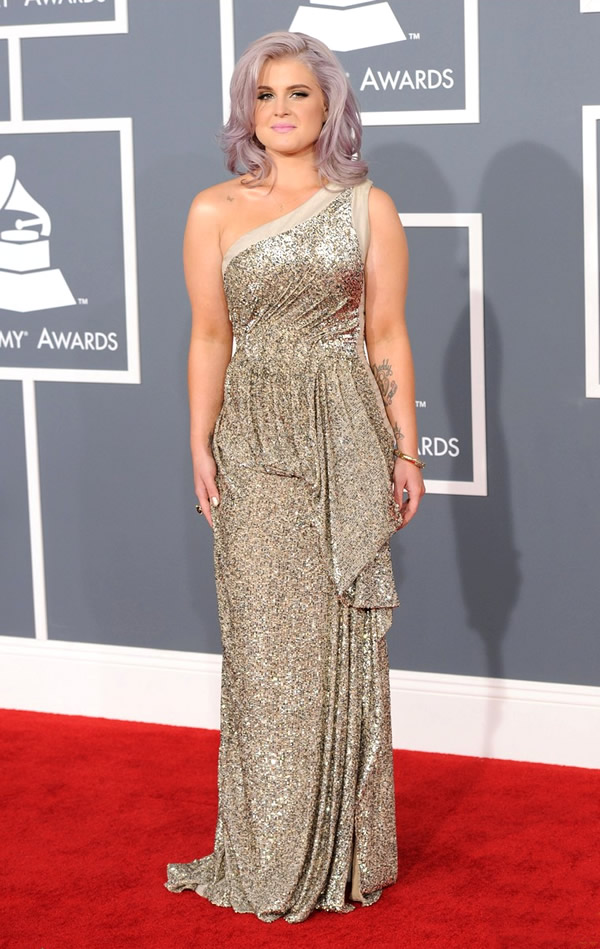 kelly osbourne grammy awards 2012 03 Grammy Awards 2012: Čierny smútok za Whitney