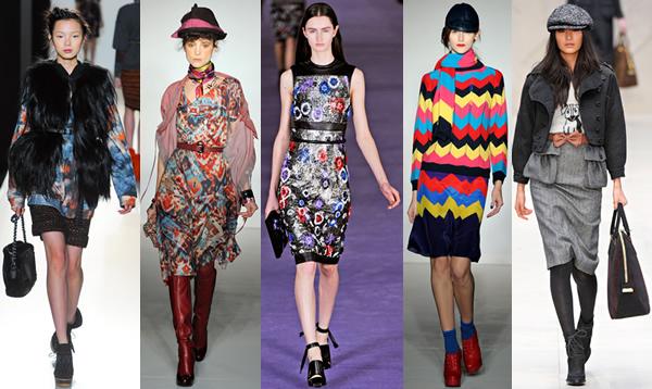 london London Fashion Week: Jeseň/zima 2012 s kožou, kožušinkami, klasikou ale i šialenými potlačami