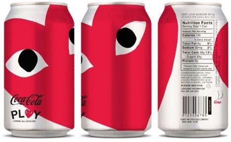comme des garcons play coca cola 468x287 Dizajn Coca Coly bude v rukách Jean Paul Gaultiera