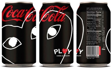 comme des garcons play coca cola zero 468x290 Dizajn Coca Coly bude v rukách Jean Paul Gaultiera