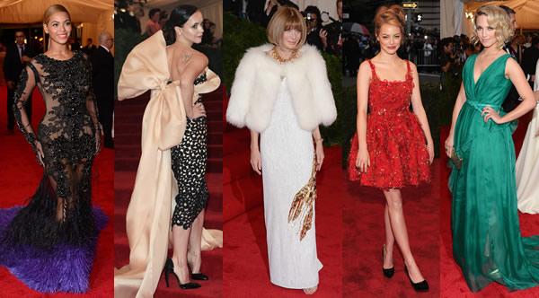 met1 Met Gala 2012: Vrchol módy v plnej kráse, 1. časť