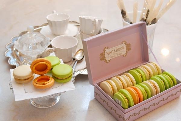 Wedding Cake Sweets Macaron Trinket Favor 2 Silná chuť nielen na sladké makarónky