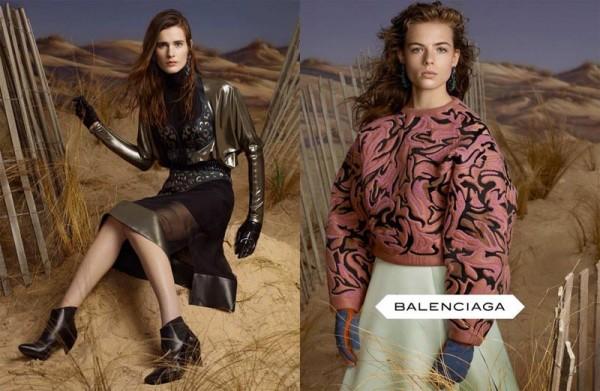 Balenciaga FW 2012 600x391 To najlepšie z módnych kampaní na jeseň/zimu 2012
