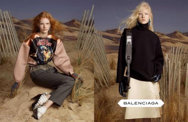 Balenciaga Fall 2012 Ad Campaign 600x391 To najlepšie z módnych kampaní na jeseň/zimu 2012