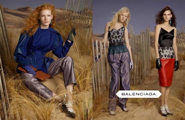 Balenciaga Fall Winter 2012 Campaign 600x391 To najlepšie z módnych kampaní na jeseň/zimu 2012