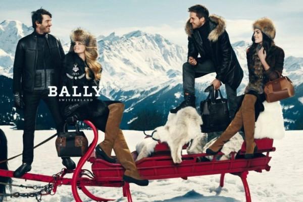 Bally Fall 2012 Ad Campaign Alps 600x400 To najlepšie z módnych kampaní na jeseň/zimu 2012