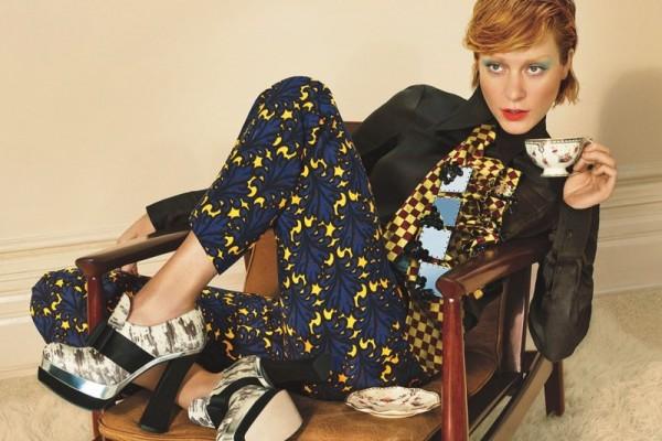 Chloe Sevigny 600x400 To najlepšie z módnych kampaní na jeseň/zimu 2012