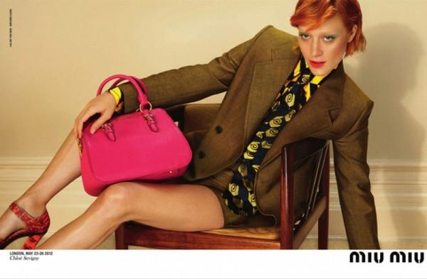 Chloe Sevigny miu miu 600x393 To najlepšie z módnych kampaní na jeseň/zimu 2012