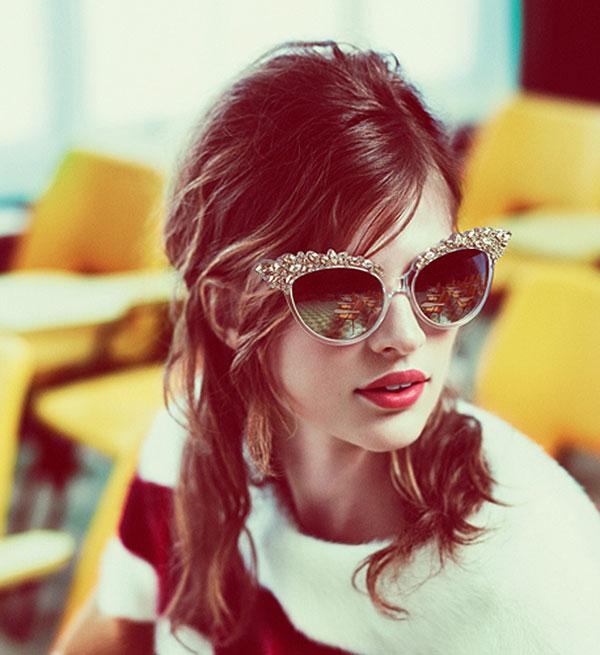 DSquared2 Fall Winter 2012 eyewear Campaign To najlepšie z módnych kampaní na jeseň/zimu 2012