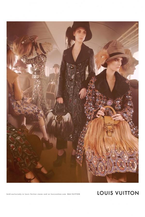 LV Campaign Fall 2012 600x899 To najlepšie z módnych kampaní na jeseň/zimu 2012
